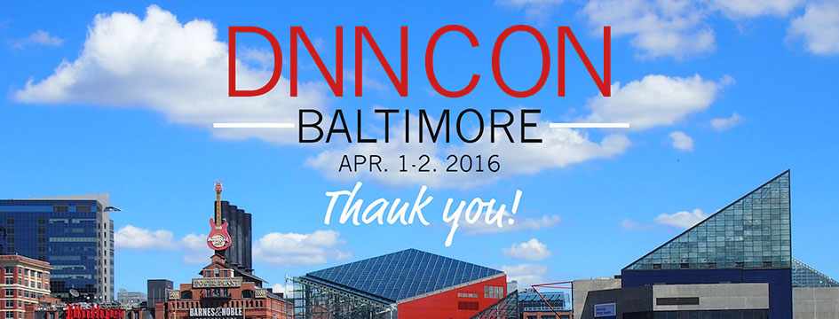 DNNCON: Thank You!